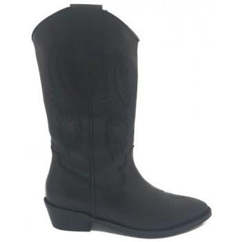 Zapatos Mujer Botas urbanas Lolas BOTA COWBOY MODELO LUPITA DE Negro