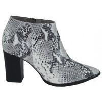 Zapatos Mujer Low boots Lolas BOTIN  PIEL PRINT PITON Beige