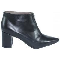 Zapatos Mujer Low boots Lolas BOTIN  CON CREMALLERA CENTRAL Negro