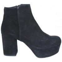 Zapatos Mujer Botines Lolas BOTIN CON PLATAFORMA DE Negro