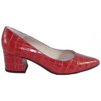 Zapatos Mujer Zapatos de tacón Lolas SALON  PIEL GRABADA COCO Rojo