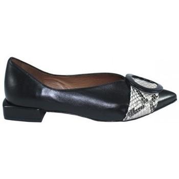 Zapatos Mujer Bailarinas-manoletinas Lolas ZAPATO COMBINADO CON HEBILLA DE Negro