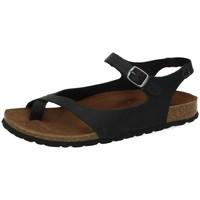 Zapatos Mujer Sandalias Interbios Sandalias dedo bios Negro