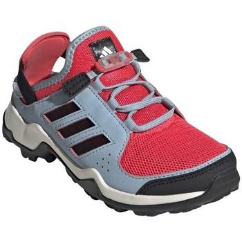 Zapatos Niños Senderismo adidas Originals Terrex Hydroterra Rojos, Azul