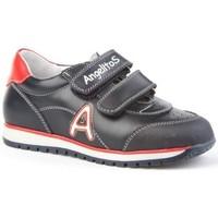 Zapatos Niños Zapatillas bajas Angelitos Deportivos colegiales de piel by Bleu
