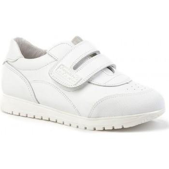 Zapatos Niños Zapatillas bajas Angelitos Deportivos colegiales de piel by Blanc