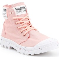 Zapatos Mujer Zapatillas altas Palladium Manufacture HI Organic W 96199-647-M rosado