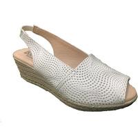 Zapatos Mujer Sandalias Issa Miel ZAPATO CUÑA HYPNOTIC Blanco