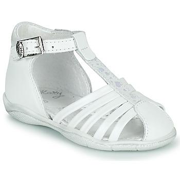 Zapatos Niña Sandalias Little Mary VOLGA Blanco