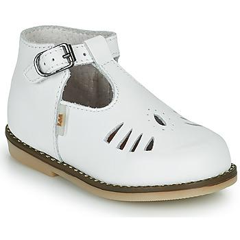 Zapatos Niña Zapatillas altas Little Mary SURPRISE Blanco