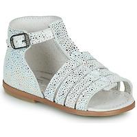 Zapatos Niña Sandalias Little Mary HOSMOSE Gris