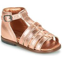 Zapatos Niña Sandalias Little Mary HOSMOSE Rosa