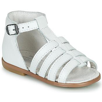 Zapatos Niña Sandalias Little Mary HOSMOSE Blanco