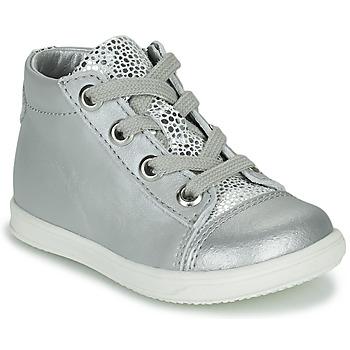 Zapatos Niña Zapatillas altas Little Mary VITAMINE Plata
