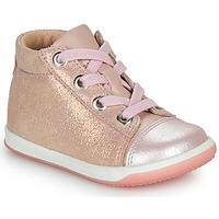 Zapatos Niña Zapatillas altas Little Mary VITAMINE Rosa