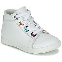 Zapatos Niña Zapatillas altas Little Mary VITAMINE Blanco