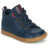 Zapatos Niño Zapatillas altas Little Mary LEON Azul