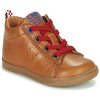 Zapatos Niño Zapatillas altas Little Mary LEON Marrón
