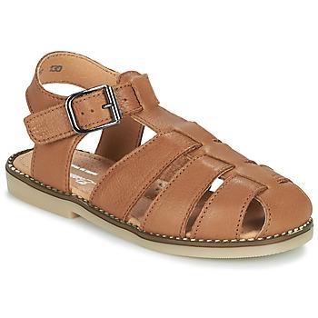 Zapatos Niño Sandalias Little Mary BREHAT Marrón