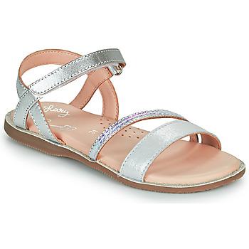Zapatos Niña Sandalias Little Mary DOLERON Plata