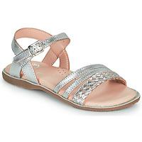Zapatos Niña Sandalias Little Mary LIME Plata