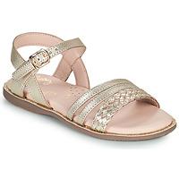 Zapatos Niña Sandalias Little Mary LIME Oro