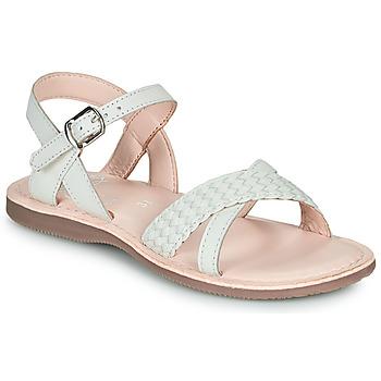Zapatos Niña Sandalias Little Mary LIANE Blanco