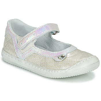 Zapatos Niña Bailarinas-manoletinas Little Mary BRILLANTE Crudo
