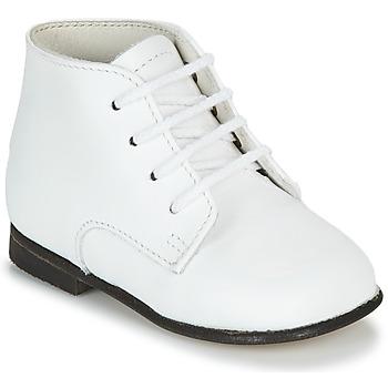 Zapatos Niños Botas de caña baja Little Mary FL Blanco
