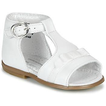 Zapatos Niña Sandalias Little Mary GAELLE Blanco