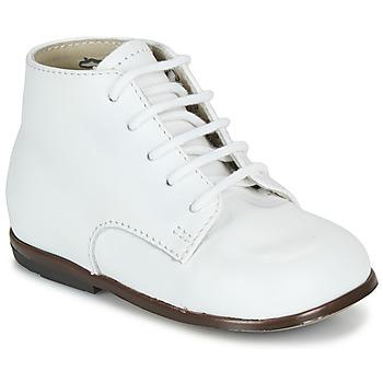 Zapatos Niños Botas de caña baja Little Mary QUINQUIN Blanco