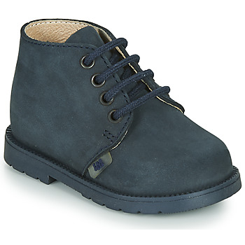 Zapatos Niño Botas de caña baja Little Mary GINGO Marino