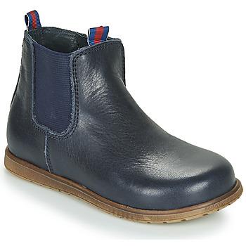 Zapatos Niño Botas de caña baja Little Mary JAUFFREY Marino