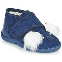 Zapatos Niños Pantuflas Little Mary KOALAVELCRO Azul