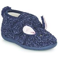 Zapatos Niños Pantuflas Little Mary LAPINVELCRO Azul
