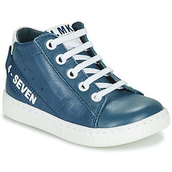 Zapatos Niño Zapatillas altas Little Mary LUCKY Azul