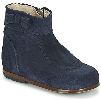Zapatos Niña Botas de caña baja Little Mary OLISETTE Marino