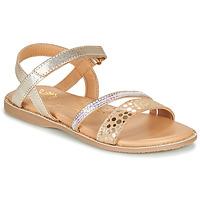 Zapatos Niña Sandalias Little Mary DOLERON Oro