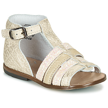 Zapatos Niña Sandalias Little Mary HOSMOSE Oro