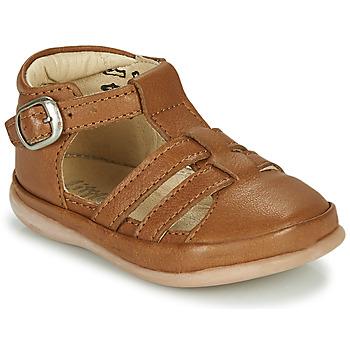 Zapatos Niños Sandalias Little Mary LAIBA Marrón