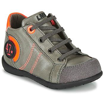 Zapatos Niño Botas de caña baja Little Mary FELIX Gris