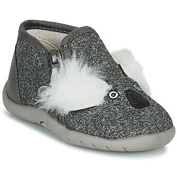 Zapatos Niños Pantuflas Little Mary KOALAZIP Gris