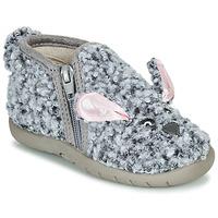 Zapatos Niños Pantuflas Little Mary LAPINZIP Gris