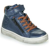 Zapatos Niño Zapatillas altas Little Mary FIRST Azul