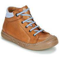 Zapatos Niño Zapatillas altas Little Mary JOEY Cognac