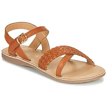 Zapatos Niña Sandalias Little Mary LIANE Cognac