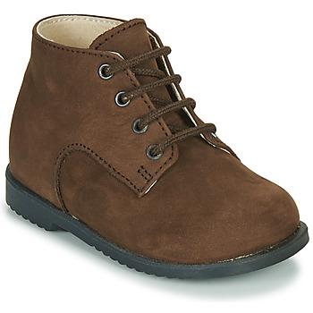 Zapatos Niño Botas de caña baja Little Mary MILOT Marrón