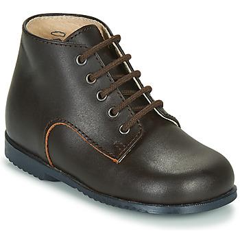 Zapatos Niños Botas de caña baja Little Mary MILOT Marrón