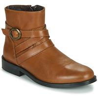Zapatos Niña Botas de caña baja Little Mary TIMOTHY Cognac