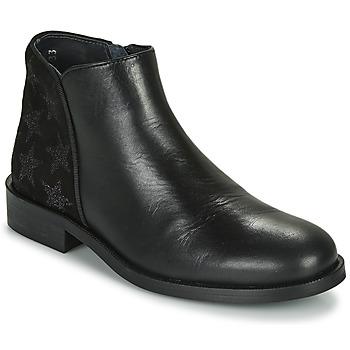 Zapatos Niña Botas de caña baja Little Mary CAMERON Negro